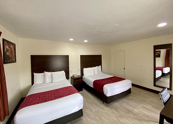 2 Full Pillow-top beds