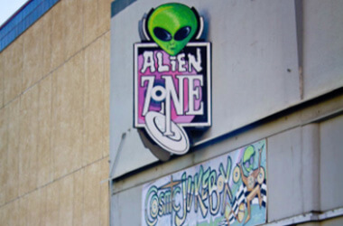 Area 51 Museum, Alien Zone