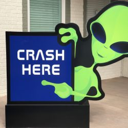 Crash here logo